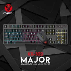 FANTECH Gaming Keyboard And Mouse -Combo
