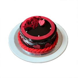 Pure Love (Rich Chocolate Cake) - Valentine Special Cake