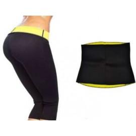 Hot Shapers Slimming Pants Sweat Sauna Body Shaping Trouser and Hot Shaper Belt Combo