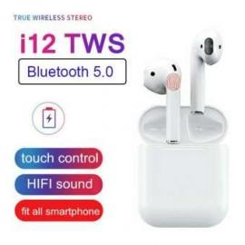 i12 TWS True Wireless Touch Control   Bluetooth 5.0 Earphones