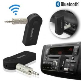 Car Bluetooth Aux Transmitter Stereo Music Receiver Rechargeable