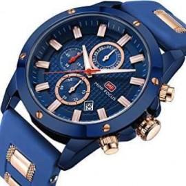 MINI FOCUS Men Sport Watches  Fashion Waterproof Quartz Wrist Watch