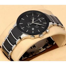 RADO Switzerland Centrix Chronograph Ceramic Watch-Black