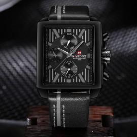 NaviForce Chronograph Luxury Men's Watch-Black