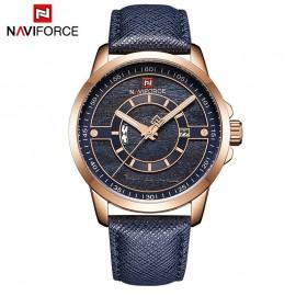 Naviforce NF 9151 Analog Quartz Mens Watch-Blue