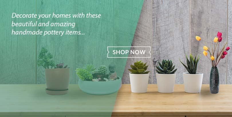 Order beautiful pottery items and decorative items from Choicemandu Online Shopping Site