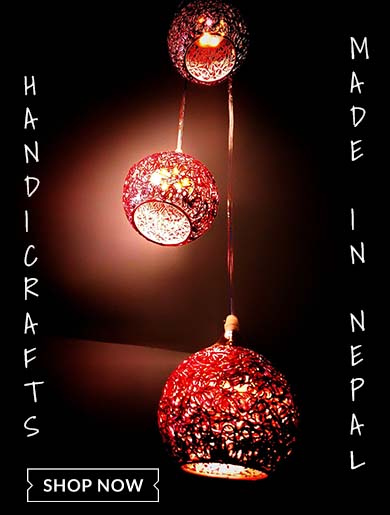Get amazing and beautiful handicrafts made in Nepal in choicemandu online shopping site