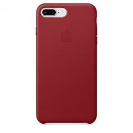 Apple Leather Case for iPhone 8 Plus – Red