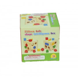 Fifteen Hole Shape Intelligence box / Kids Fun & games