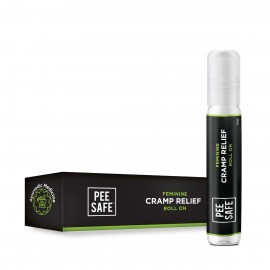 Pee Safe Feminine Cramp Relief Roll On for Period Pain - 10 ML