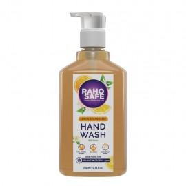 Raho Safe Hand Wash With Lemon  Mandarin Essence and Goodness of Neem - 300 ML