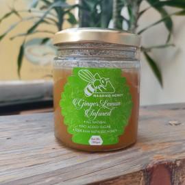 Ginger Lemon Infused Honey 200 Gram