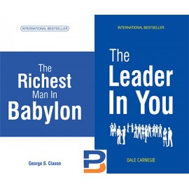 Book Combo Set   The Richest Man In Babylon & The Leader In You