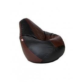 Nudge 3XL Brown /Black Bean bag