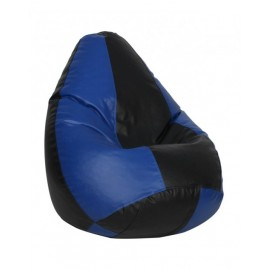 Nudge 3XL Black/ Blue Classic Bean Bag   A must have for your living / bed room