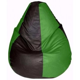 Nudge Mix Color Classic Bean Bag   Red, Green, Yellow