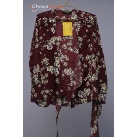 floral Printed silk  t-shirts
