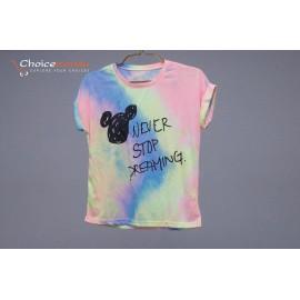 Rainbow short sleeve T-shirt