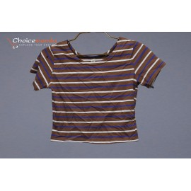 Striped t-shirt Top Size